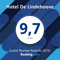 Booking com Lindehoeve award2016